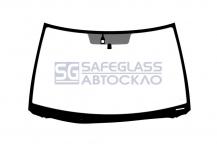 Лобовое стекло Toyota Camry (01 - 06)